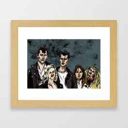 Crybaby Framed Art Print
