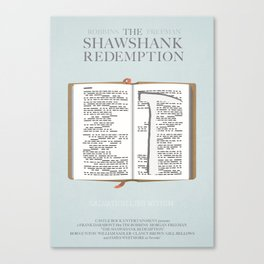 The Shawshank Redemption - minimal poster Canvas Print