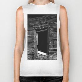 Old Abandonned house Biker Tank