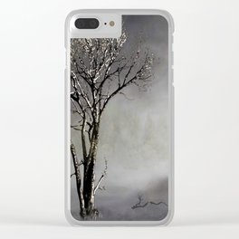 """""""To Love Somebody,"""" Inspired by Nina Simone Clear iPhone Case"""