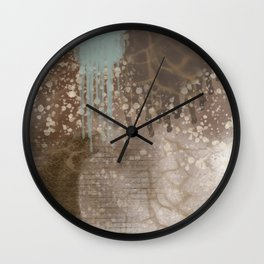 Splash of Textures Wall Clock