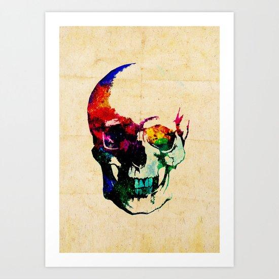 I live inside your face Art Print