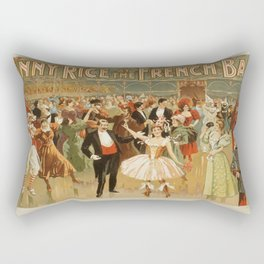 Vintage poster - Fanny Rice at the French Rectangular Pillow