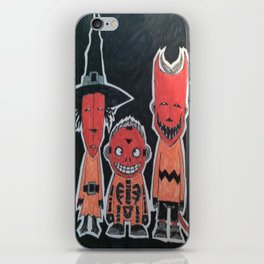 Ha-Ha-Halloween iPhone Skin