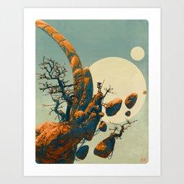 Floating Landscape Art Print