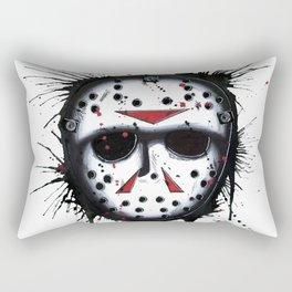 The Horror of Jason Rectangular Pillow