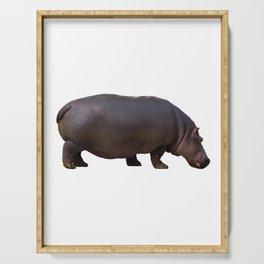 Hippopotamus Serving Tray