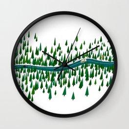 Jeju Forest Wall Clock