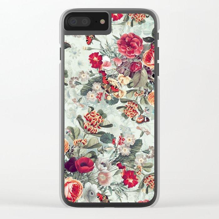 Summer Garden IV Clear iPhone Case