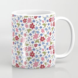 Tossed star flowers Coffee Mug