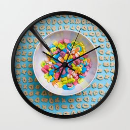 Play With Your Food Wall Clock