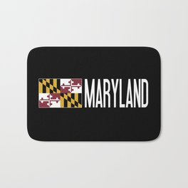 Maryland: Marylander Flag & Maryland Bath Mat