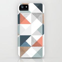 Modern Geometric 10 iPhone Case