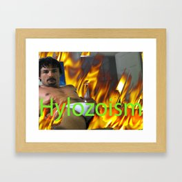 Is it hot in here? Framed Art Print
