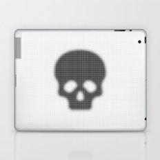 Halftone Skull Laptop & iPad Skin