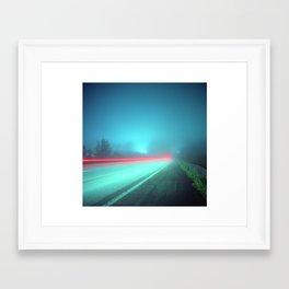 Patapsco River Fog Framed Art Print