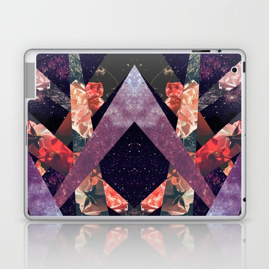 ROSES IN THE GALAXY Laptop & iPad Skin