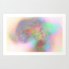 Everything is nothing 19 (therefore it was beautiful) Art Print