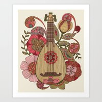 Ever Mandolin  Art Print
