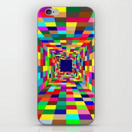 Colors Tunel iPhone Skin