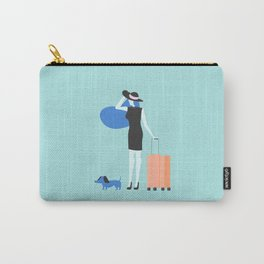 traveling is always good Carry-All Pouch
