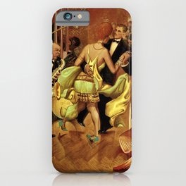 Metropolis No. 2 - Gross Stadt by Otto Dix iPhone Case