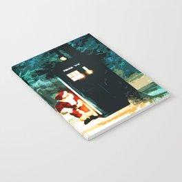 Keep Watching The Tardis Light Notebook
