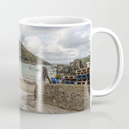Port Isaac Harbour Coffee Mug