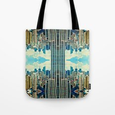 NYC in patterns Tote Bag