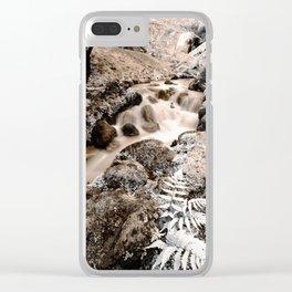 Stream Clear iPhone Case