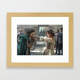Supercorp- the musketeers Framed Art Print
