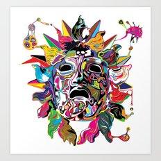 Phoebus Art Print