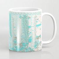 knitting Mugs featuring Feminine Knitting by Jessielee