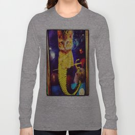 mermaid kitty Long Sleeve T-shirt