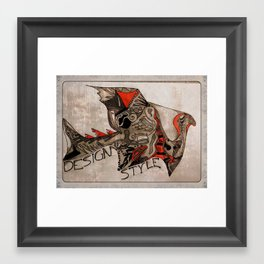 DesignStyle Framed Art Print