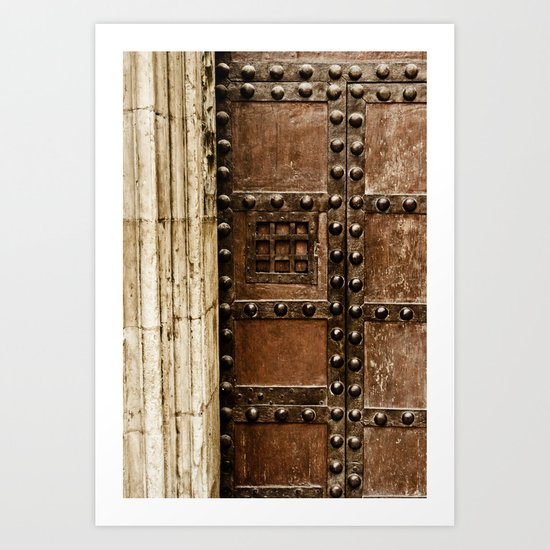 Cathedral Door Art Print
