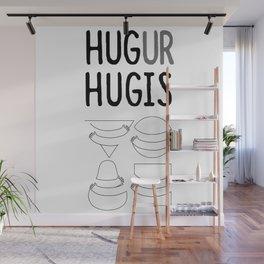 Hug Ur Hugis (Shape) Wall Mural