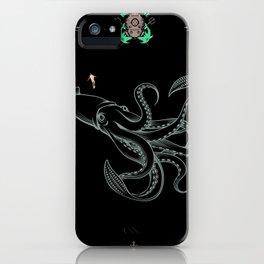 diverr giant squid iPhone Case
