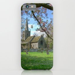 Cherry Blossom Church  iPhone Case