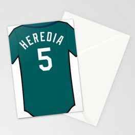Guillermo Heredia Jersey Stationery Cards