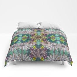 Sketchy Garden Comforters
