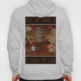 Steam Dreams - Steampunk Theme Hoody