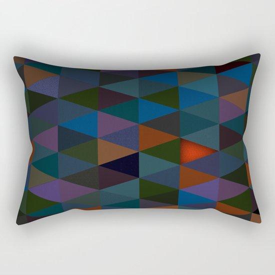 Abstract #283 Campfire Light Rectangular Pillow