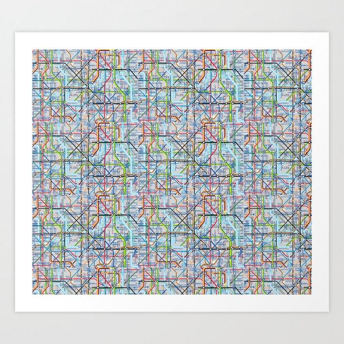 Tube Print Art Print