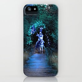 Entering Sherwood Forest iPhone Case