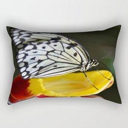 Tree Nymph Butterfly Rectangular Pillow