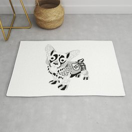kawaii corgi dog ecopop Rug