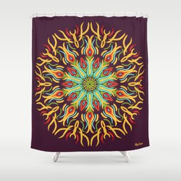 Flama Shower Curtain