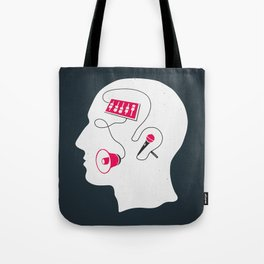 Mixed messages B Tote Bag