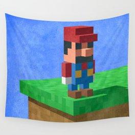 Mario's dilemma Wall Tapestry